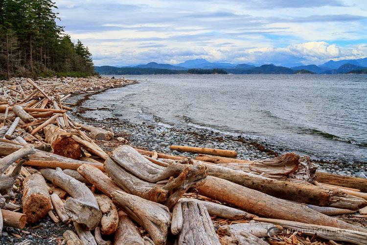 Rebecca Spit, British Columbia by Anne McKinnell