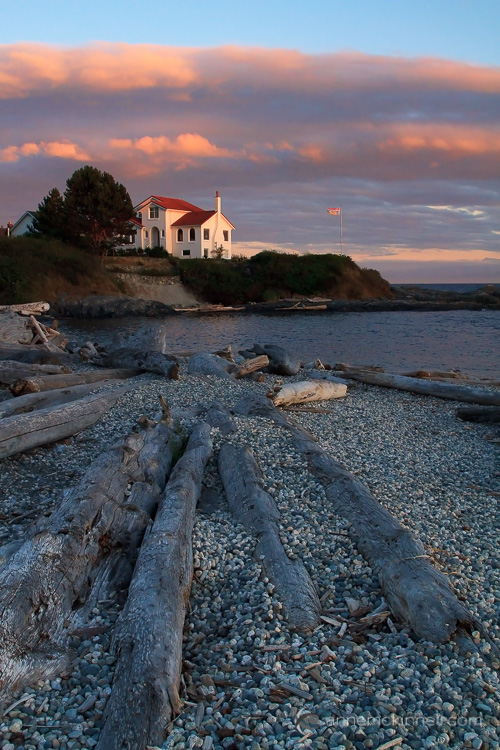 Ross Bay, British Columbia by Anne McKinnell