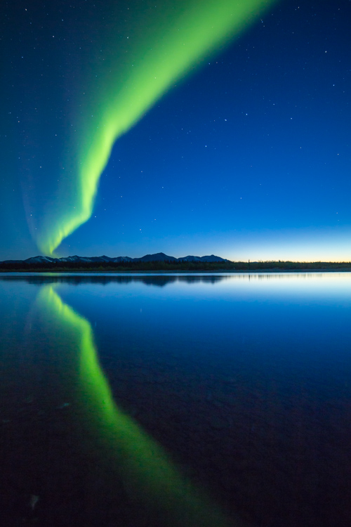 Few things are so hit and miss as photographing the aurora borealis. (There are lot of misses.)