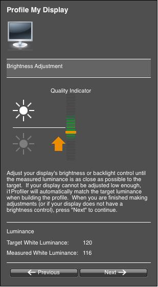 Calibrating your screen 06