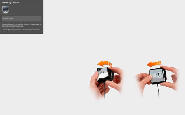 Calibrating your screen 07