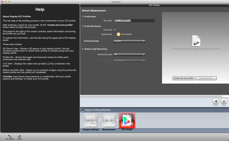 Calibrating your screen 09