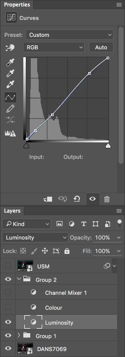 Contrast Curve Layer