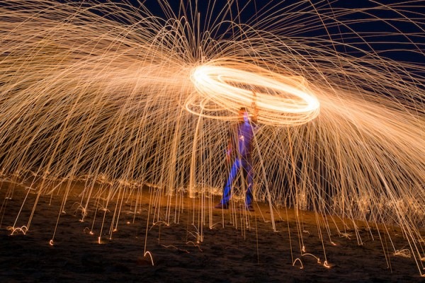Fire Spinning with Steel Wool – A Special Effects Tutorial