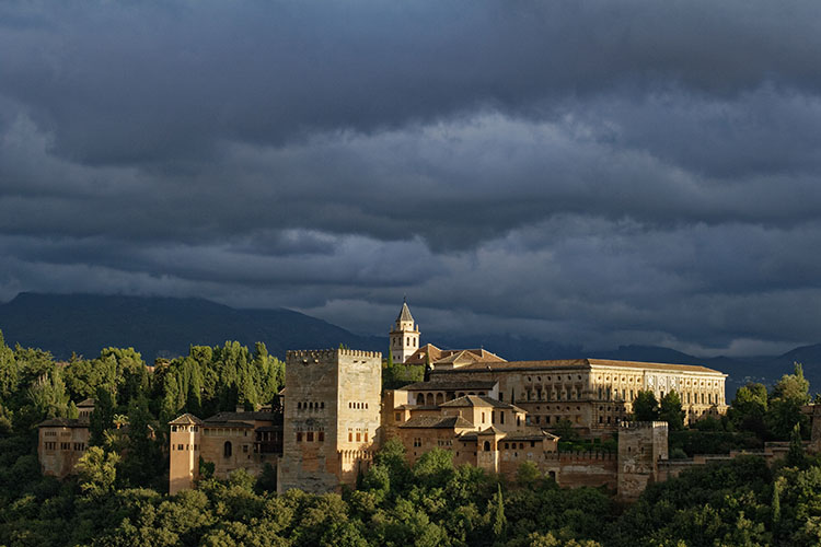 Alhambra palace ranked number 1