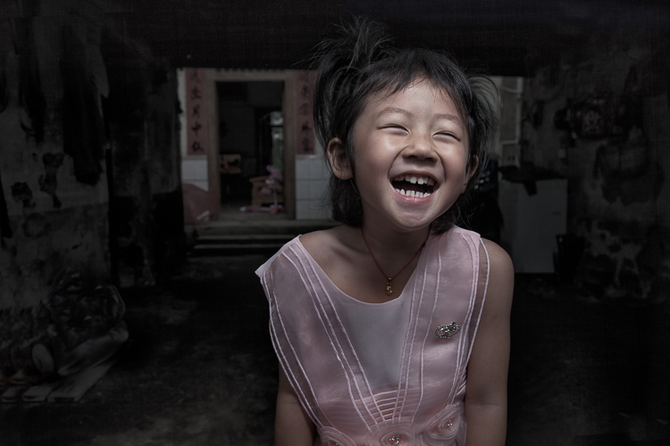 8 Chinese Girl Laughing