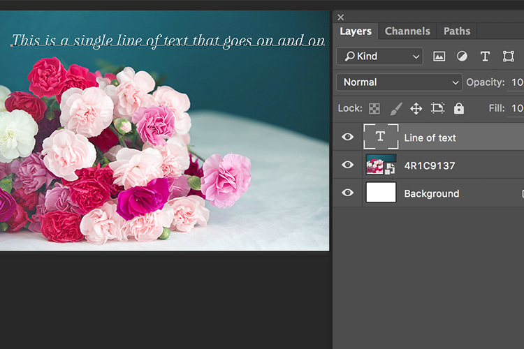 Memorable Jaunts Article for DPS Text tool in Photoshop basics 07