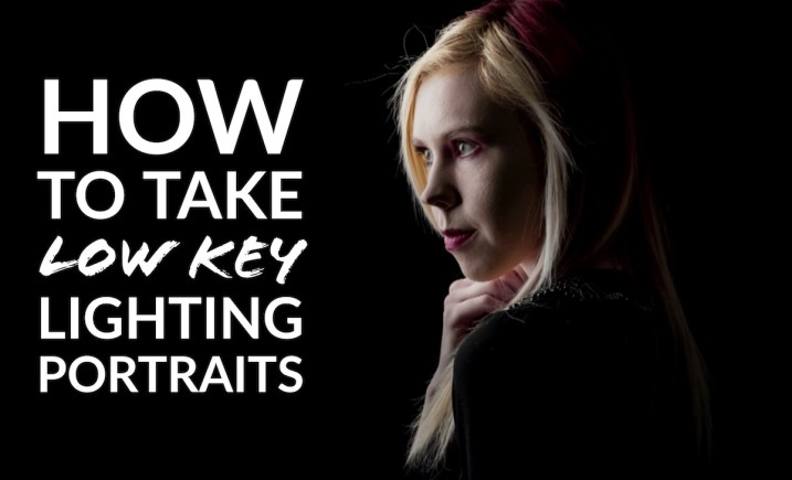 How to Take Low Key Lighting Portraits