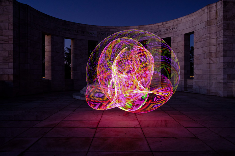 painting with light & How to Create Beautiful Light Painting Images With an Illuminated Hoop azcodes.com