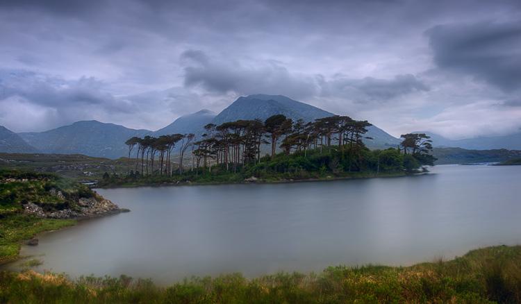 Derryclare landscape