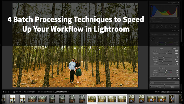 4 Batch Processing Techniques to Speed Up Your Workflow in Lightroom