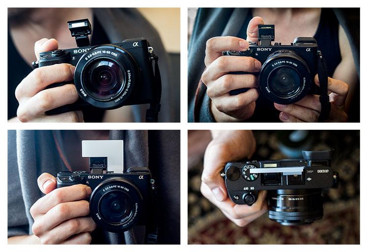 Sony a6300 flash