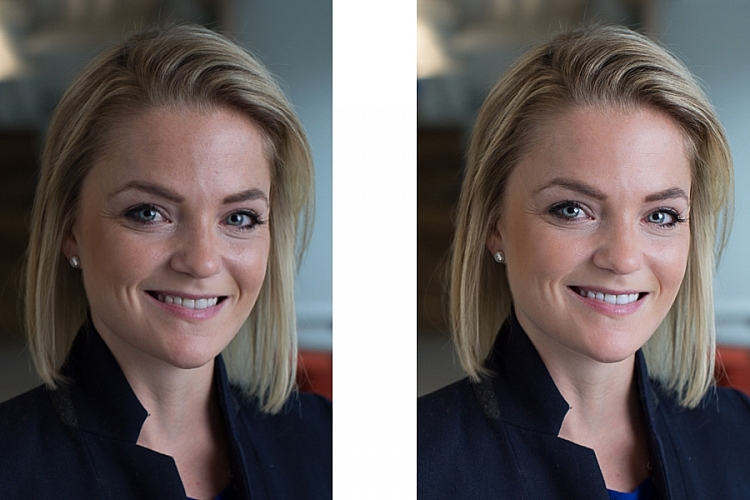 How to Edit Corporate Headshots in Lightroom
