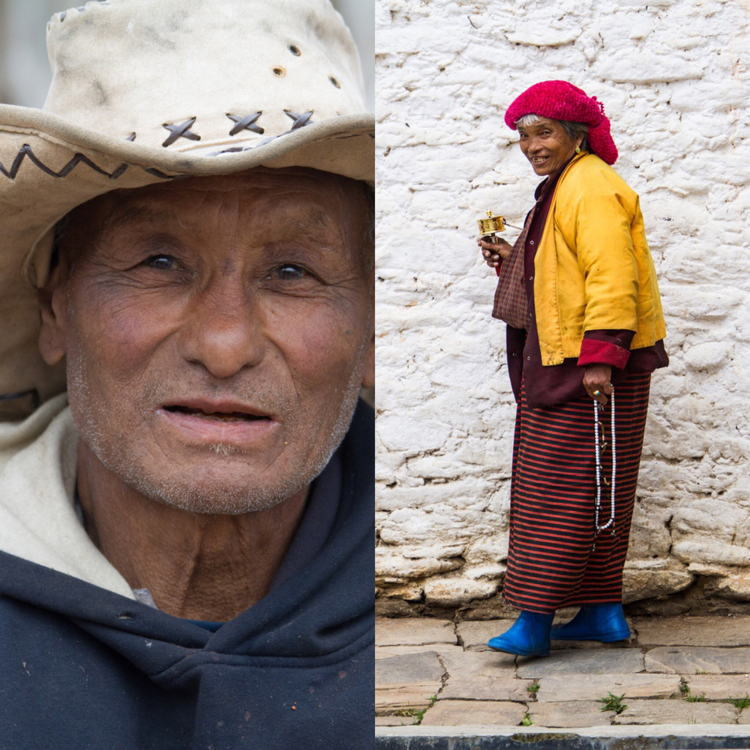Portraits in Bhutan