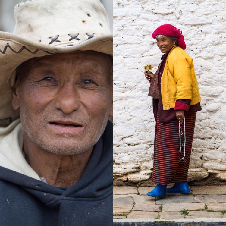 Portraits in Bhutan