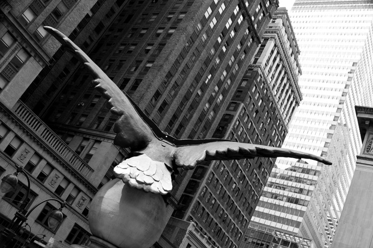 Soaring, 42nd Street, NYC