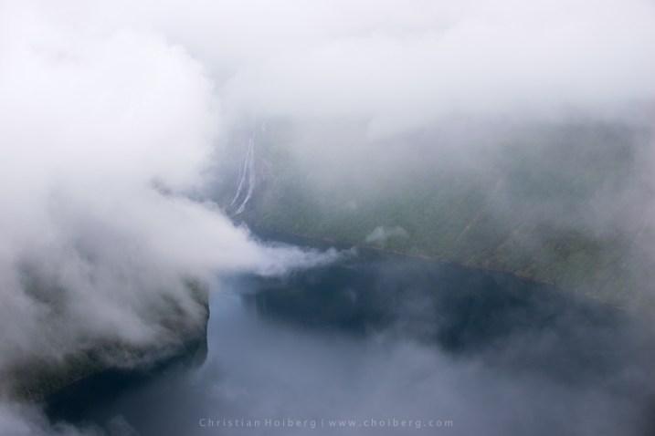 Geirangerfjorden-fog