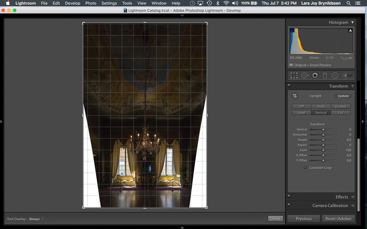 How to Use Lightroom's Transform and Crop Tools to Improve Composition