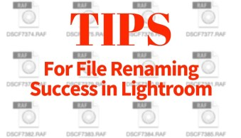 Tips for File Renaming Success in Lightroom