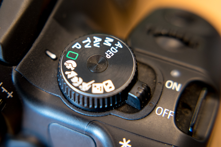 A Simple Explanation of the Camera Mode Dial