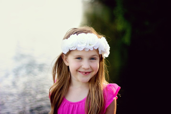 styled portraits - A styled child portrait session.