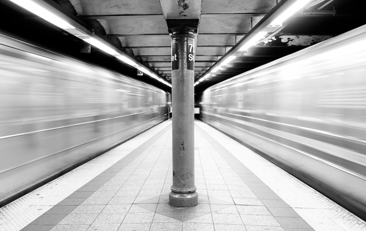 Subways in Motion, New York