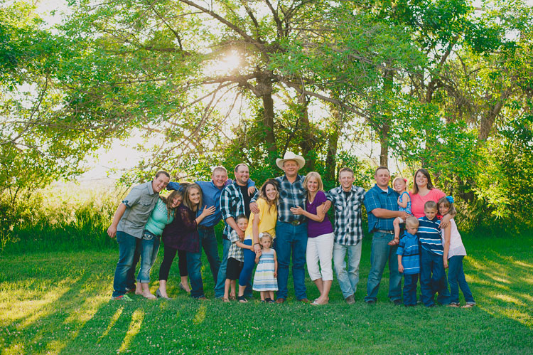 Extended Family Portrait Session