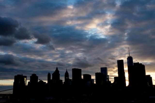 camera settings sunset city back light