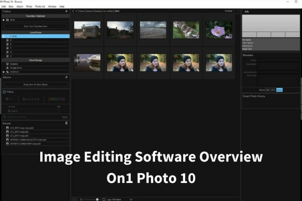 Image Editing Software Overview – On1 Photo 10