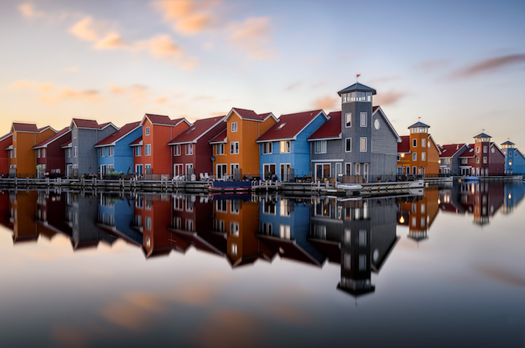 landscape photograph Groningen, Netherlands