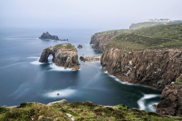 landscape photograph Land's end - Cornwall, England