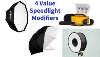 4 Value Speedlight Modifiers that Won't Break the Bank