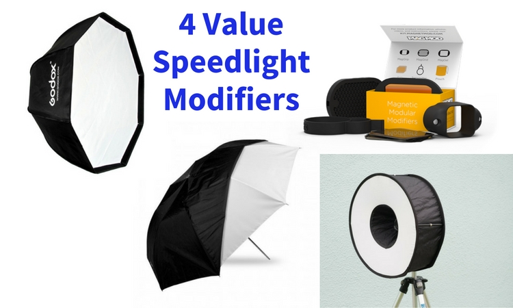 4 Value Speedlight Modifiers