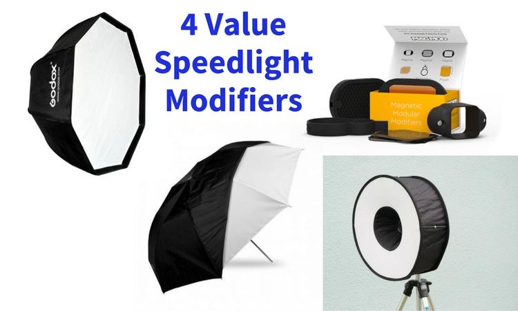 4 Value Speedlight Modifiers
