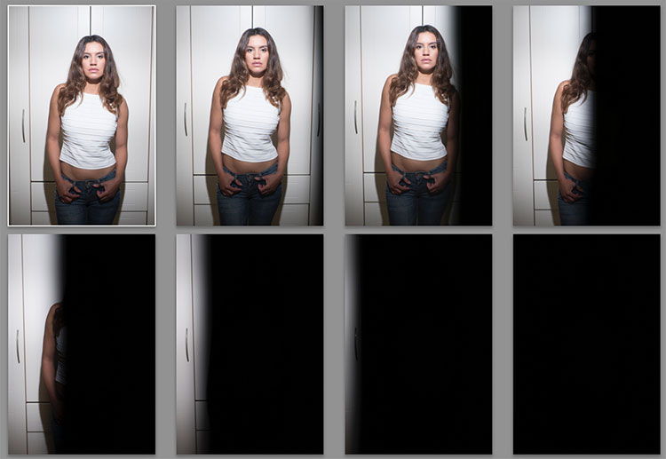 portraits with flash and high-speed sync