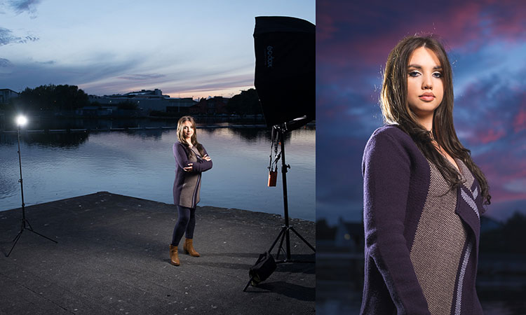 How To Make Beautiful Portraits Using Flash And High Speed