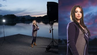 How to Make Beautiful Portraits Using Flash and High-Speed Sync