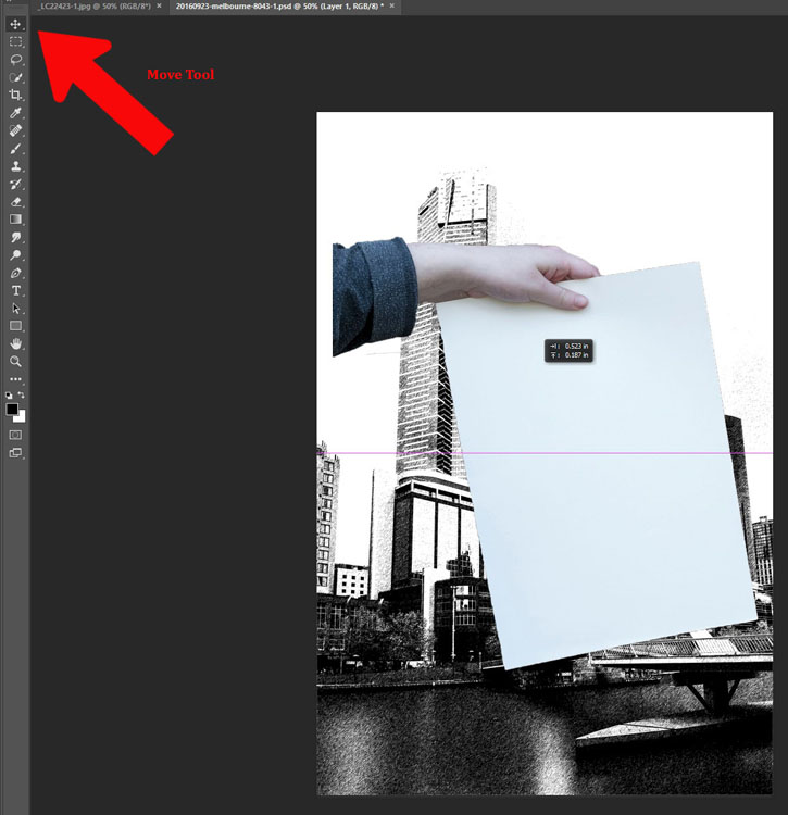 How to Make a Sketch inside a Photograph