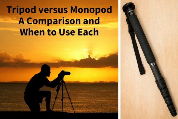 Tripod versus Monopod – a Comparison and When to Use Each