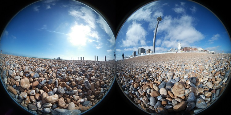 360 degree photo unstitched