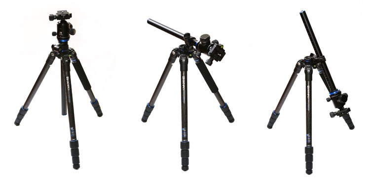 Benro FGP18C SystemGo Plus Travel Tripod with B2 Ball Head