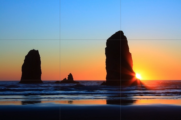 Ultimate landscape photography guide rule of thirds