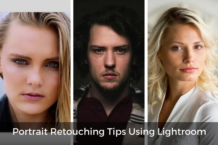 3 Video Tutorials - Portrait Retouching Tips Using Lightroom