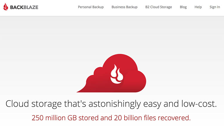 Some Options for Backing Up Your Photos Online backblaze