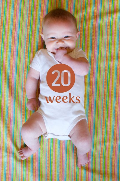 How to Use Photoshop to Create Milestone Photos of Babies