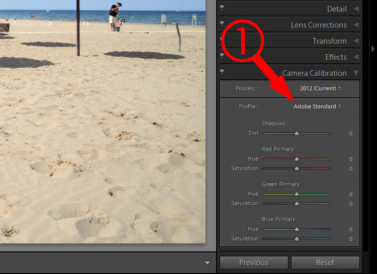 Lightroom Secret6 color profile1