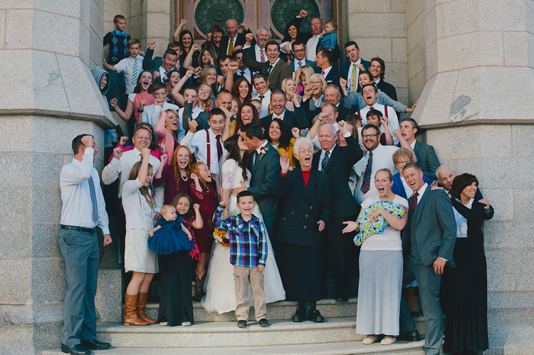 big groups - 8 Tips for Getting Great Expressions in Family Portraits