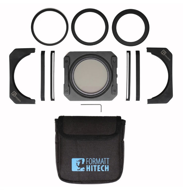 Formatt Hitech Filter holder and ND Filters