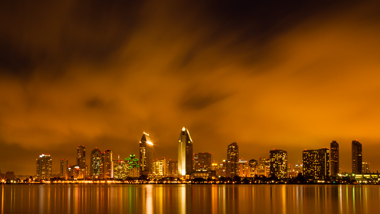 The San Diego skyline by Anne McKinnell - Advanced Shooting Modes: What They Are and When to Use Them