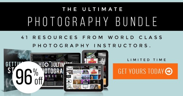 Save over 97% On The Ultimate Photography Bundle – 41 Training Resources That Will Transform Your Photography